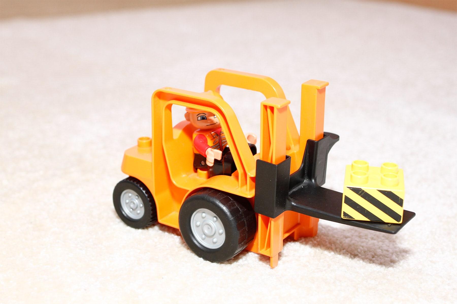 Lego Duplo Gabelstapler