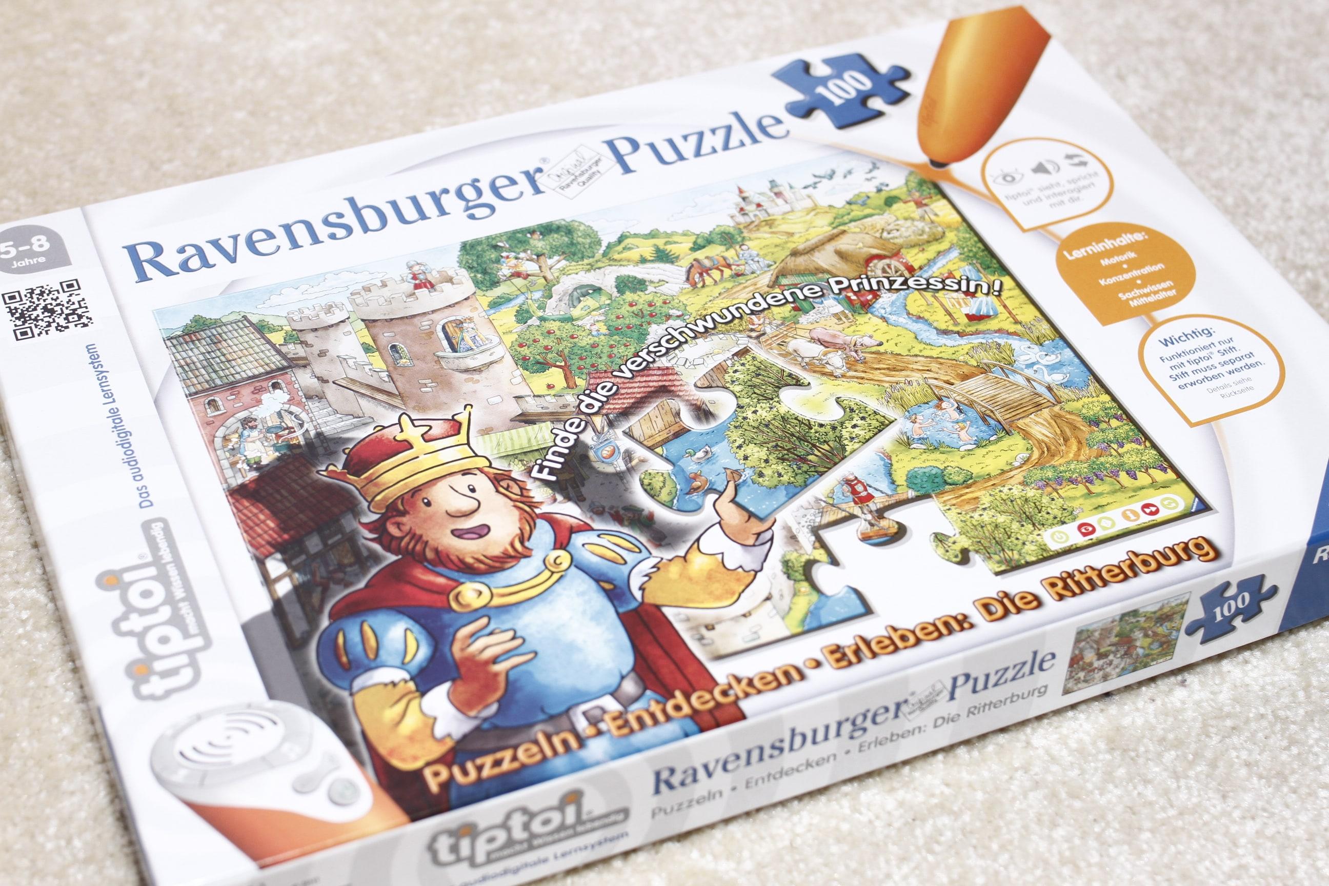 TipTpi Puzzel Finde die verschwundene Prinzessin Ravensburger