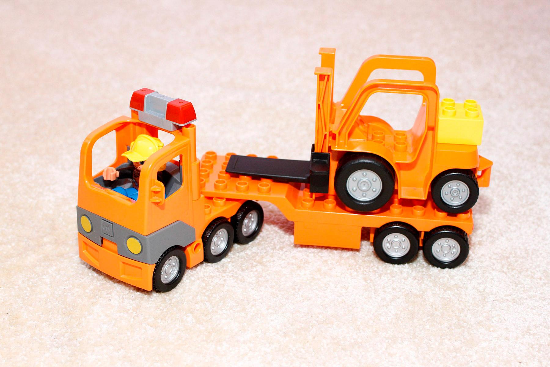 Lego Duplo Sattelschlepper